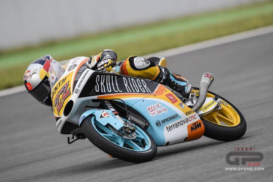 Moto3: FP2: Masaki batte tutti, 2° Canet. Lampo Bulega, 3°