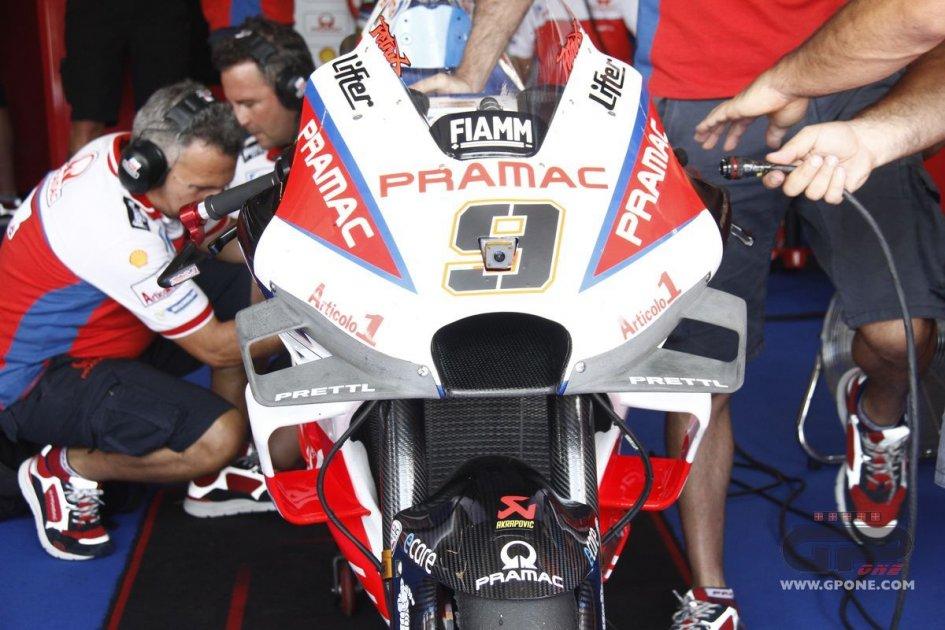 MotoGP: Con Petrucci debutta a Brno la nuova carena Ducati