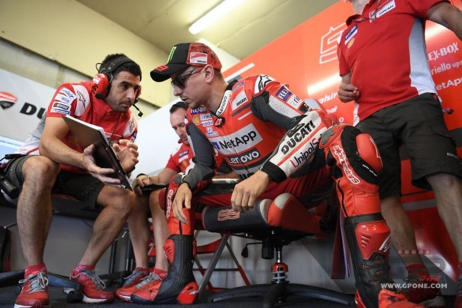 """MotoGP: Lorenzo: """"No-one quicker than me on the Ducati at Misano"""""""