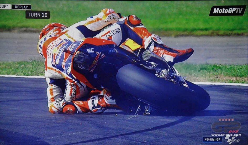MotoGP: Marc Marquez, Silverstone, the umpteenth magic at turn 16