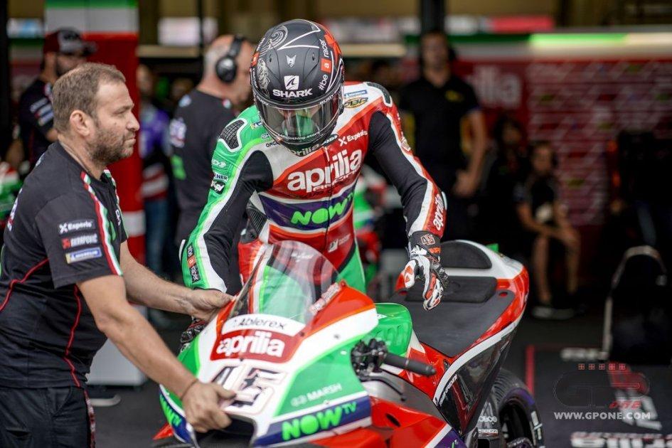 """MotoGP: Albesiano: """"Aprilia sta ritrovando l'equilibrio perso"""""""