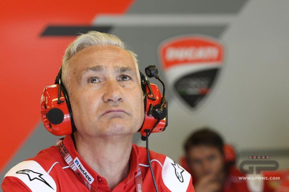 MotoGP: Tardozzi: la Ducati a Silverstone lunedì avrebbe corso