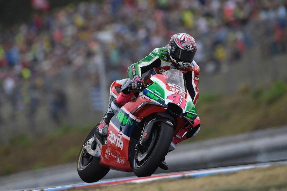 """MotoGP: A. Espargarò: """"l'Aprilia non si comporta più come nel 2017"""""""