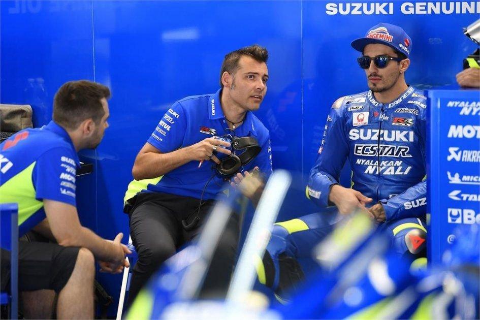 MotoGP: Iannone: non riesco a sfruttare il potenziale della Suzuki