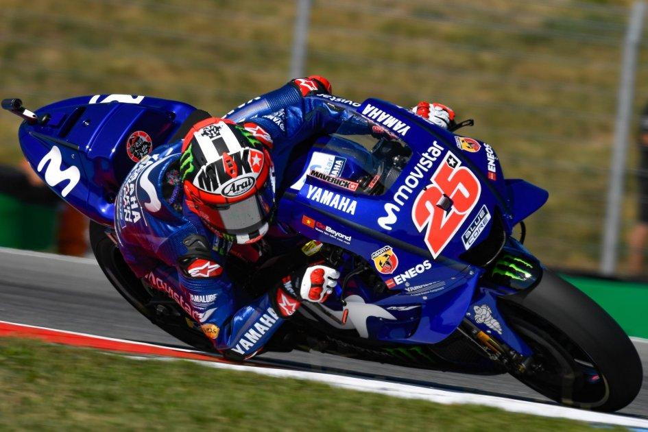 MotoGP: Vinales: usare gli assetti di Rossi? Abbiamo stili di guida diversi