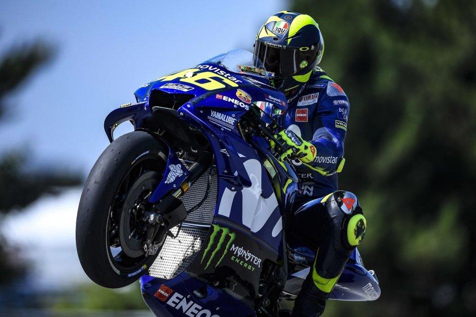 MotoGP: Rossi davanti alle Rosse nella FP3 di Brno