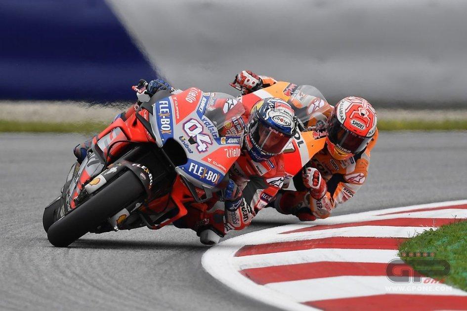 "MotoGP: Dovizioso: ""Marquez a perfectionist? He's a shark"""