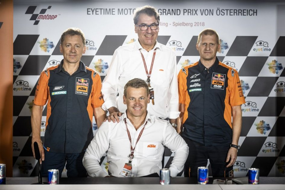 """MotoGP: KTM: """"We want to win, time doesn't worry us"""""""