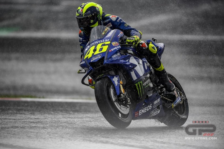 """MotoGP: Rossi: """"to make the podium we need a gift"""""""