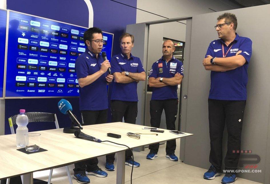 "MotoGP: Tsuya (Yamaha): ""Rossi and Vinales, I apologise"""