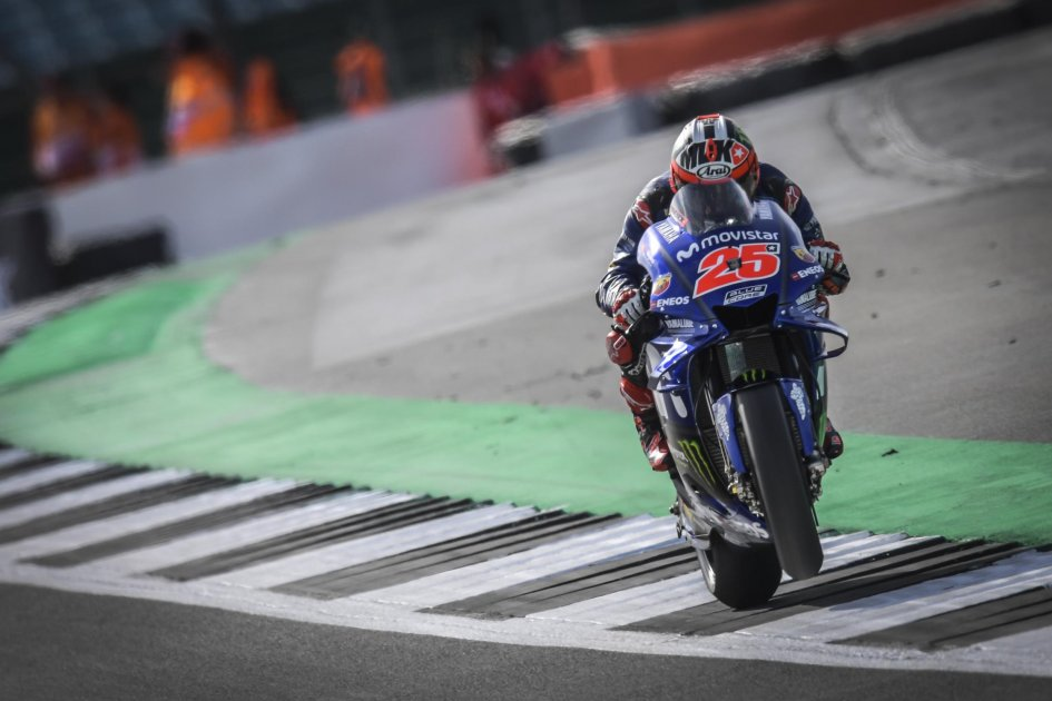 MotoGP: FP1: Yamaha rinasce a Silverstone, 1° Vinales e 2° Rossi