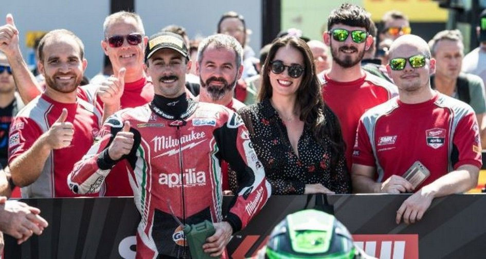 SBK: Laverty: with the Panigale V4 I could beat Rea