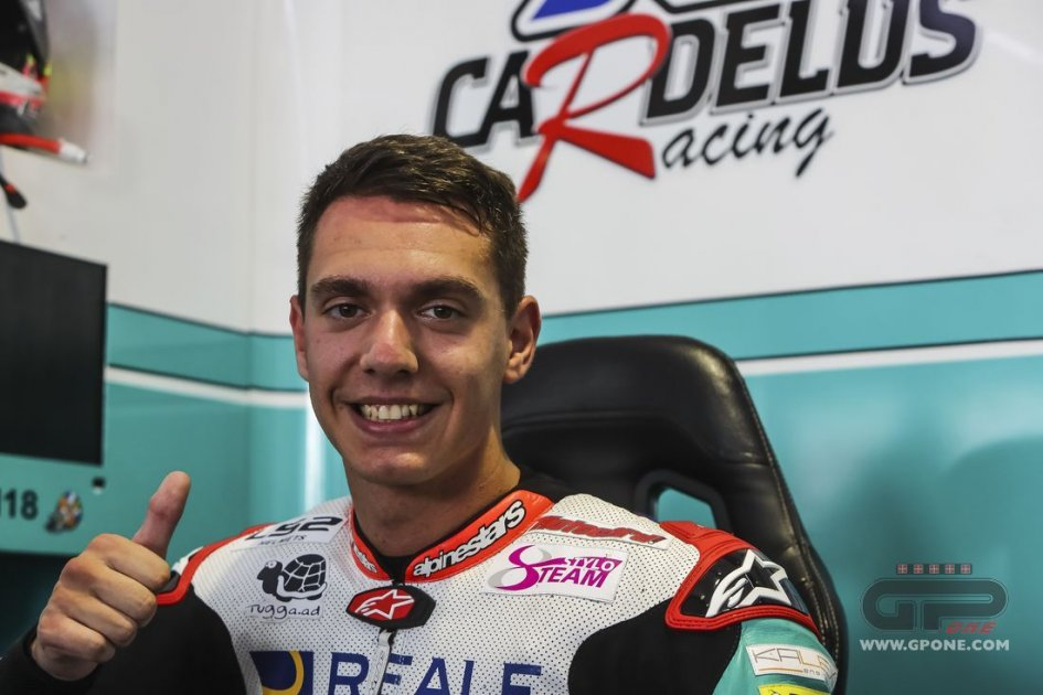 Moto2: Cardelus in place of Fenati with team Snipers