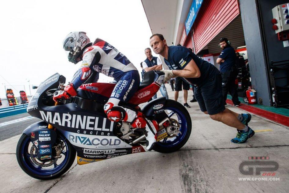 Moto2: Post-Fenati: team Snipers will continue to race
