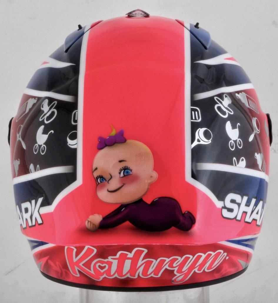 Moto2: Sam Lowes celebrates the birth of Kathryn