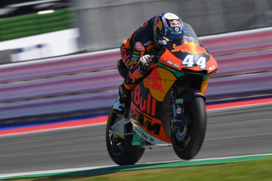 Moto2: Con un guizzo finale, Oliveira fa sua la FP3 di Misano