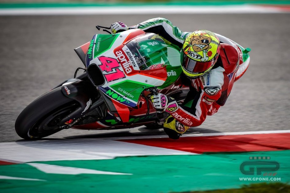 "MotoGP: Espargaró: ""After the Misano tests I hope to be back in the Top Ten"""