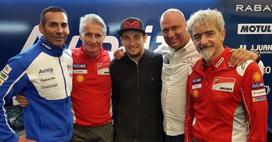 MotoGP: Abraham ed il team Avintia insieme per due anni