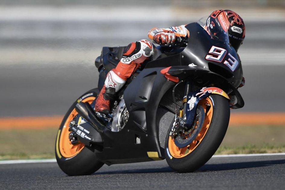 Motogp Honda 2019 Technical Tests With Marquez At Misano Gpone Com