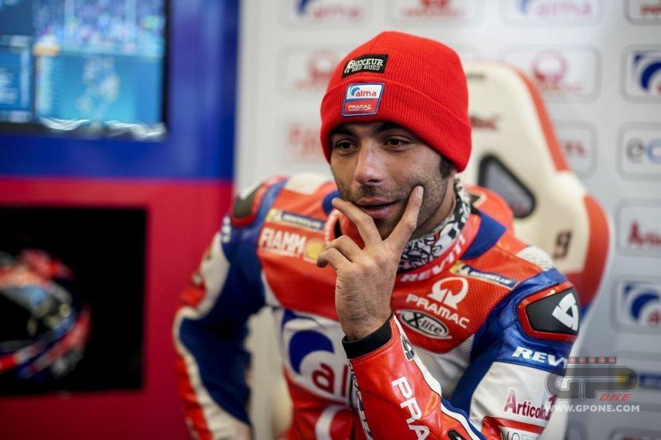 """MotoGP: Petrucci: """"per salire sul podio sono anche andato dal Papa"""""""