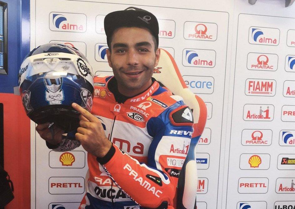 MotoGP: Petrucci come Stig a Misano