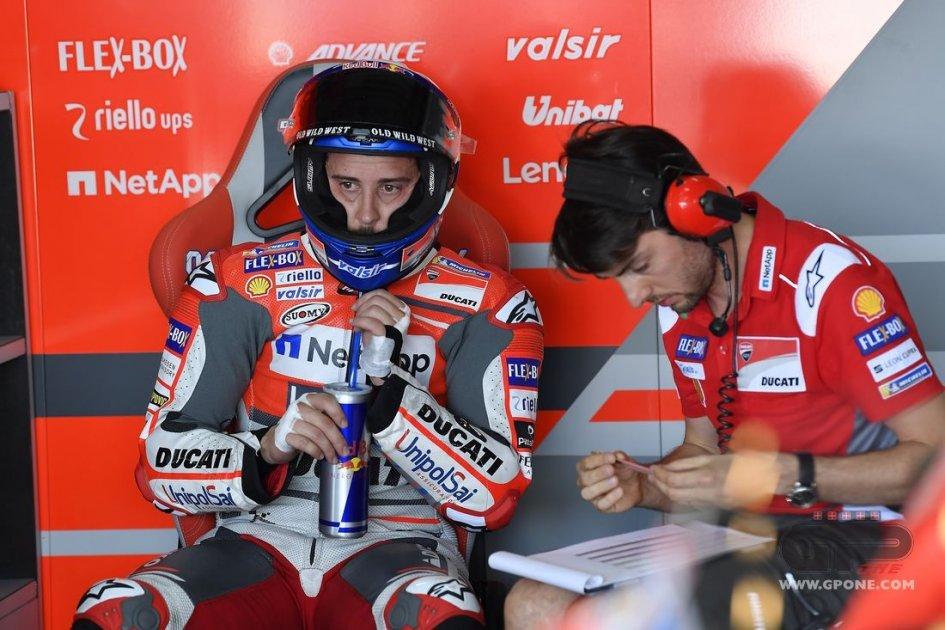 """MotoGP: Dovizioso: """"gestire le gomme più importante della velocità"""""""
