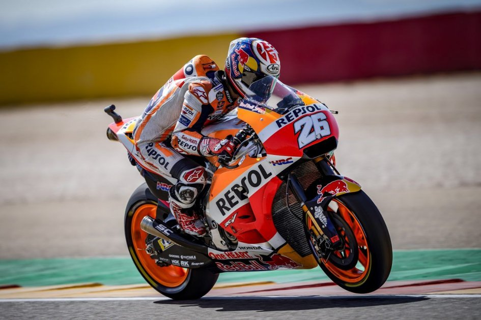 """MotoGP: Pedrosa: """"With the same tyre as Marc, I would have battled for the win"""""""