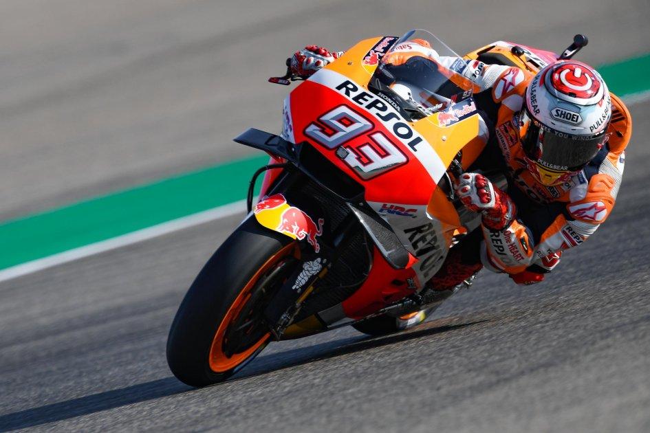 MotoGP: FP2: Marquez detta legge in casa, le Ducati inseguono