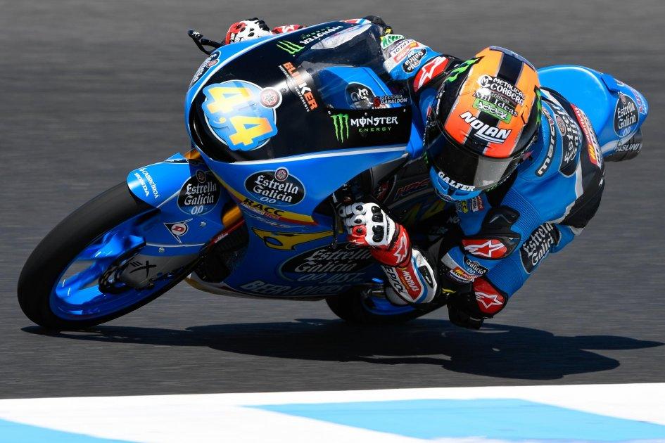 Moto3: FP2: Canet il più veloce, 4° Bezzecchi