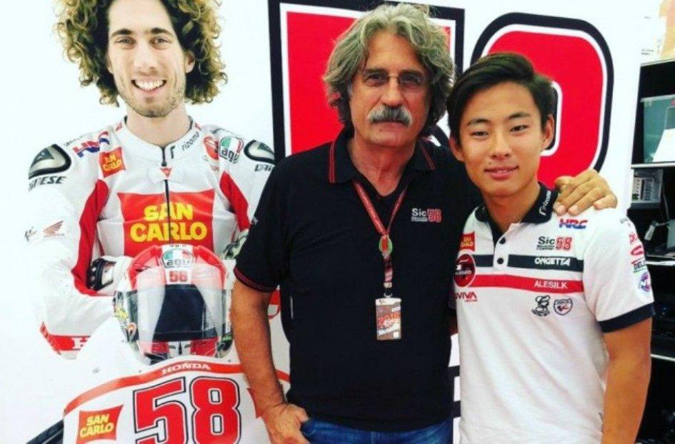 Moto3: Tatsuki Suzuki e SIC58 Squadra Corse insieme anche nel 2019