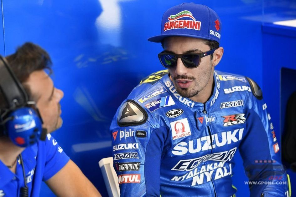 """MotoGP: Iannone: """"Suzuki and I are moving in the right direction"""""""
