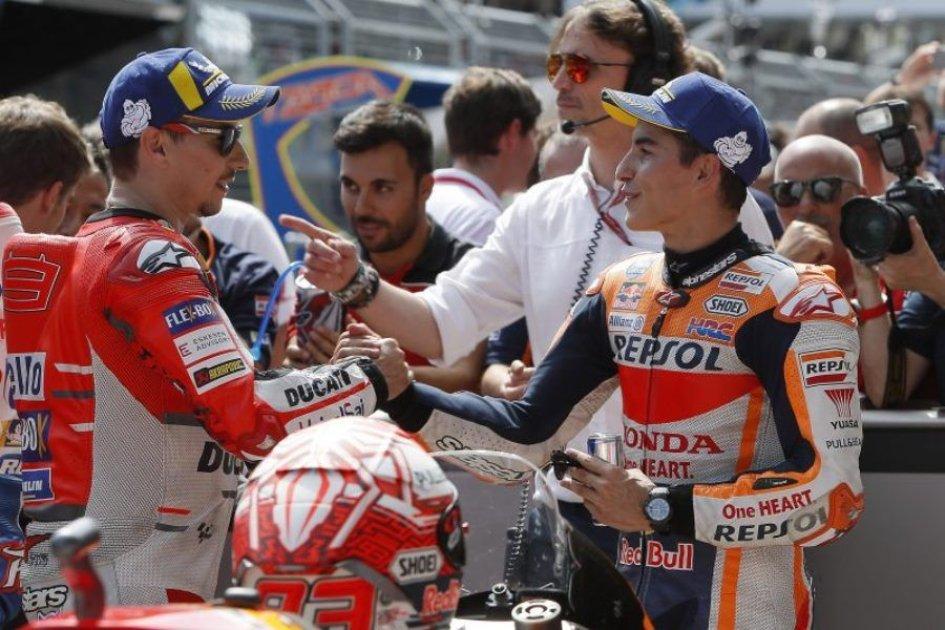 MotoGP: Motegi: Marquez sfida Dovizioso e anche Lorenzo