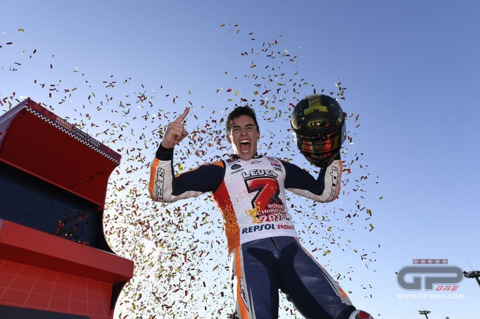 MotoGP: Marquez: I'm afraid of the sea, but I would swim off for another title!