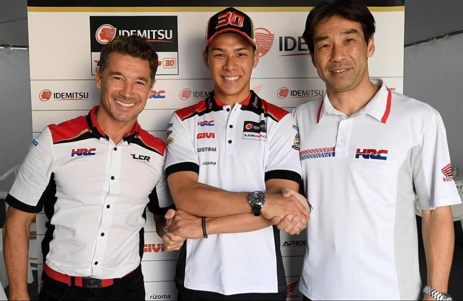 MotoGP: Nakagami and team LCR Honda together again in 2019