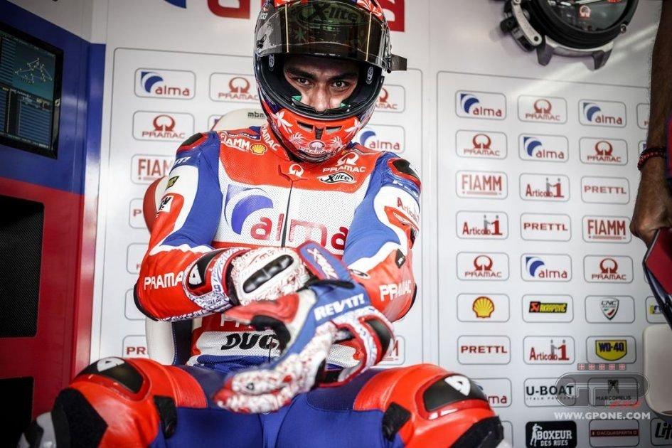 """MotoGP: Petrucci: """"Dovrò mettermi a dieta per le prossime gare"""""""