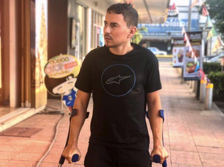 """MotoGP: Lorenzo: """"Buriram the worst track at which to be injured"""""""