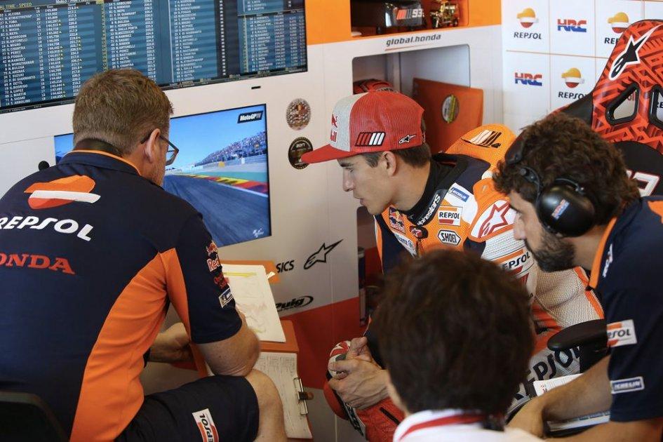 """MotoGP: Marquez: """"Lorenzo's crash? very strange"""""""