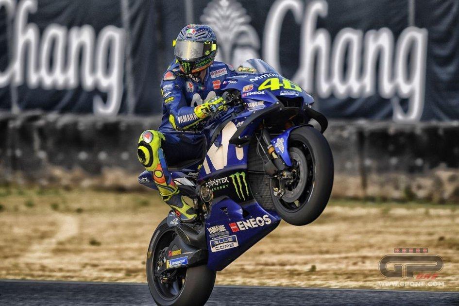 """MotoGP: Rossi: """"Buriram? non amo la pista ma voglio il podio"""""""