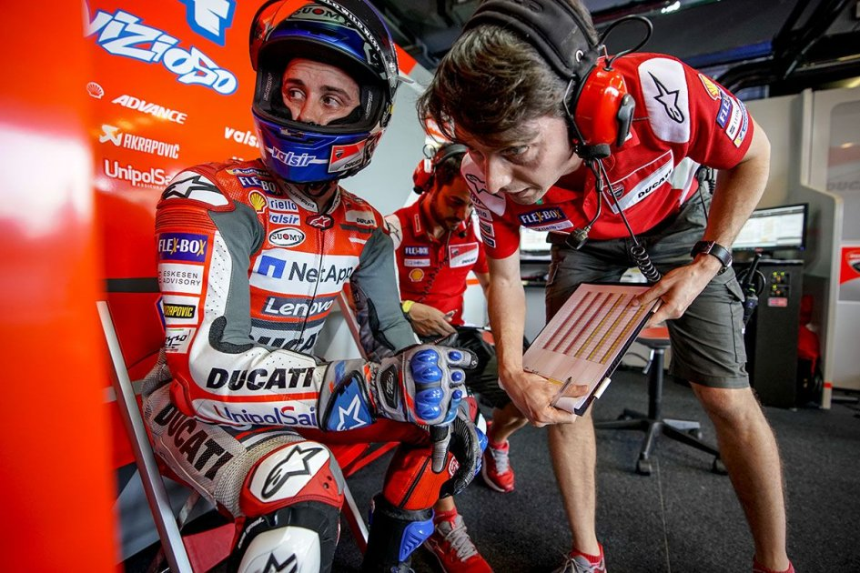 "MotoGP: Dovizioso: ""Marquez thinks I'm ahead? He'll be there with me on the last lap"""