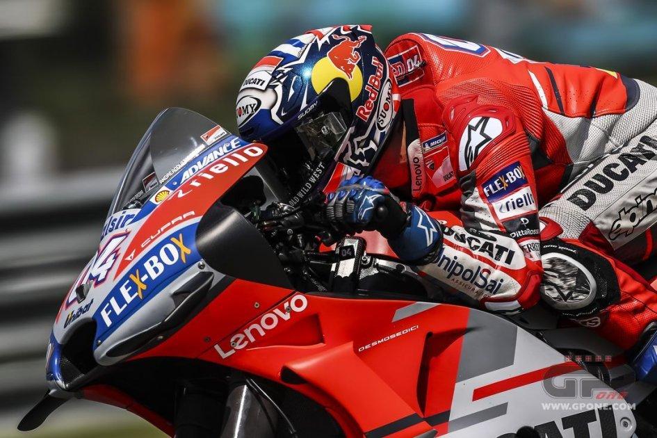 MotoGP: Ducati a due facce in FP1: Dovizioso Top, Lorenzo Out a Motegi
