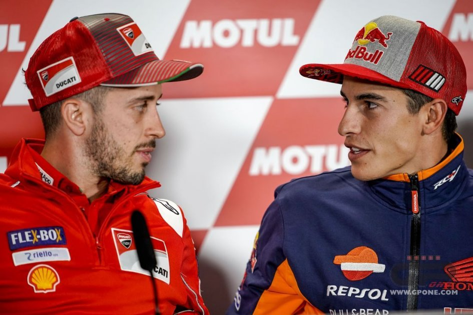"MotoGP: Dovizioso: ""Marquez in Ducati? it would be great"""