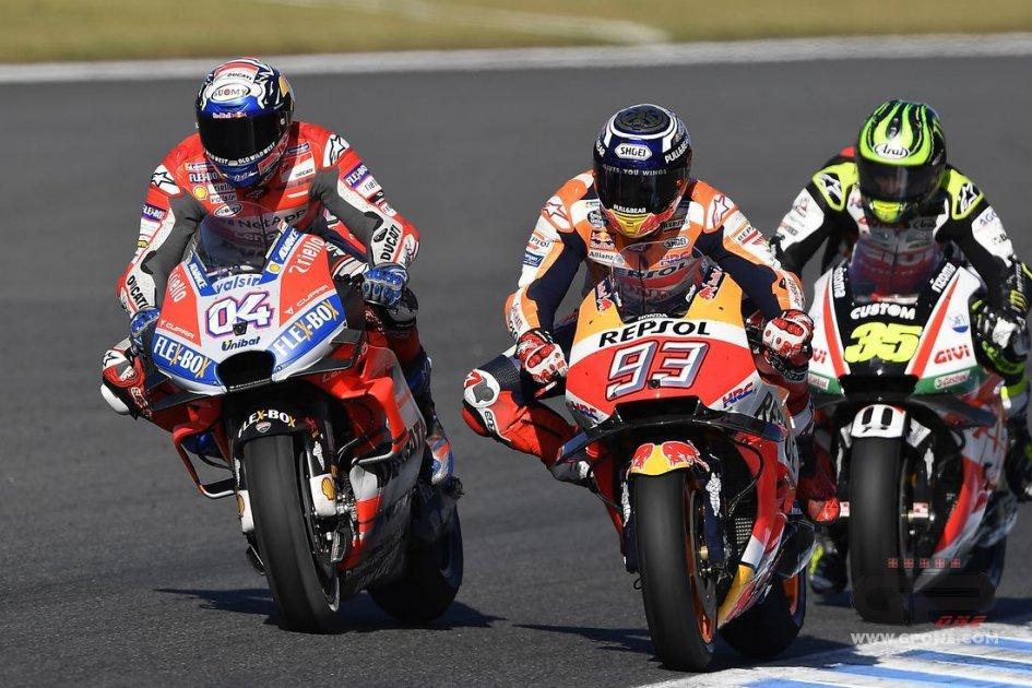 "MotoGP: Dovizioso: ""I numeri di Marquez fanno paura"""