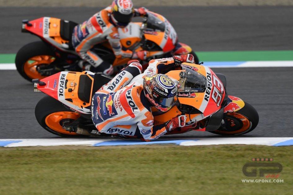 """MotoGP: Marquez: """"Fermo ai box in FP2? Mi hanno legato alla sedia!"""""""
