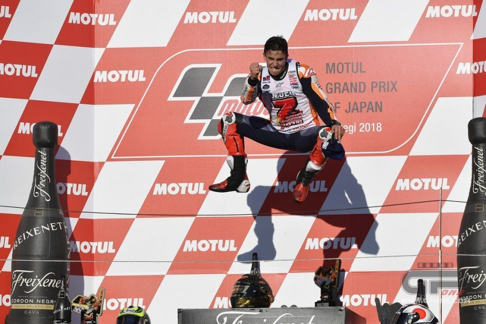 MotoGP: Marc Marquez in 7th heaven: the champion's photo gallery