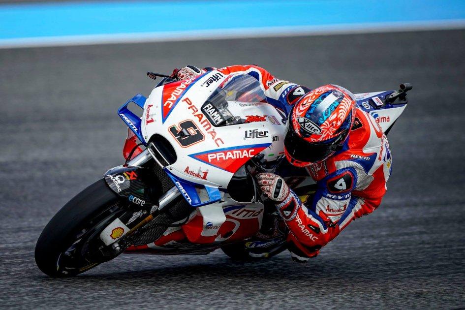 """MotoGP: Petrucci: """"Sono sorpreso, ho pagato a caro prezzo gli errori"""""""