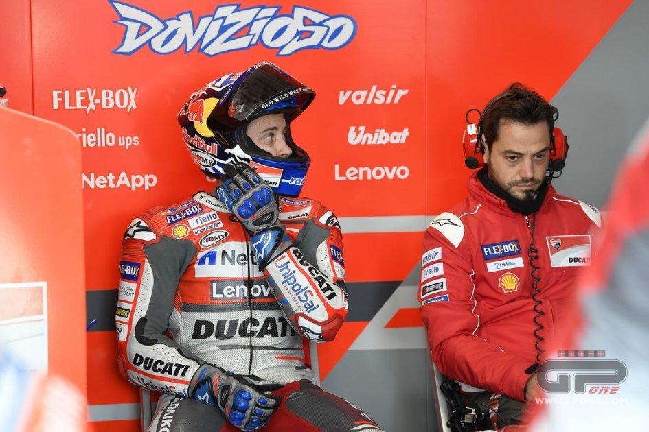 """MotoGP: Dovizioso: """"Correrò tenendo un occhio su Rossi"""""""