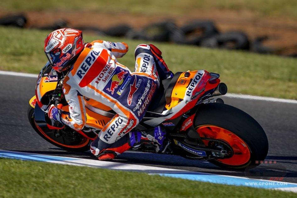 "MotoGP: Márquez: ""Zarco and I were very lucky"""