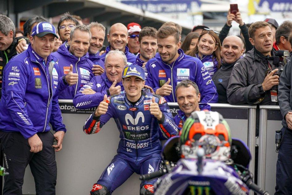 "MotoGP: Vinales: ""Ho le sensazioni giuste che servono per la gara"""