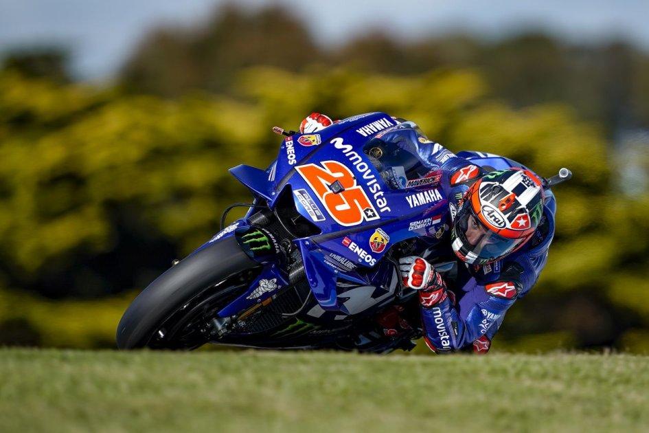 MotoGP: Vinales mette fine al digiuno Yamaha in Australia, 6° Rossi