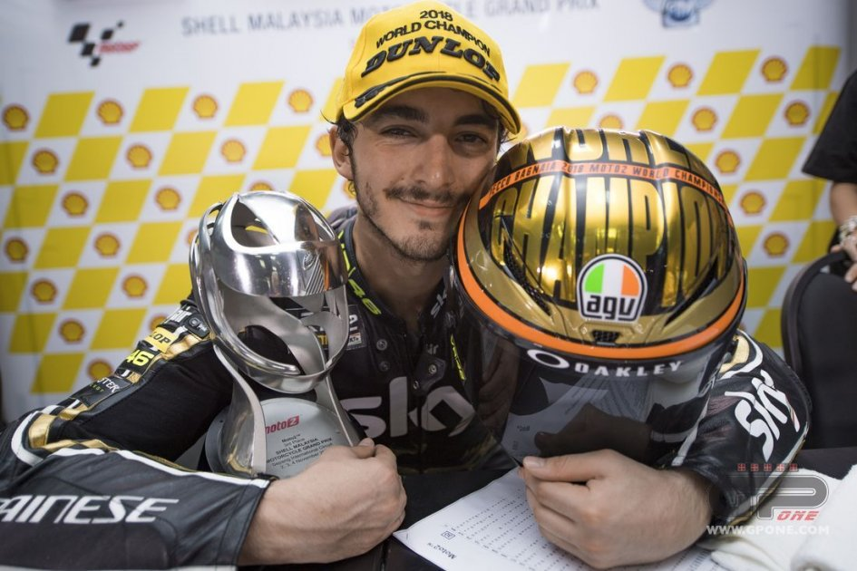 Moto2: Bagnaia: the numbers of the champion